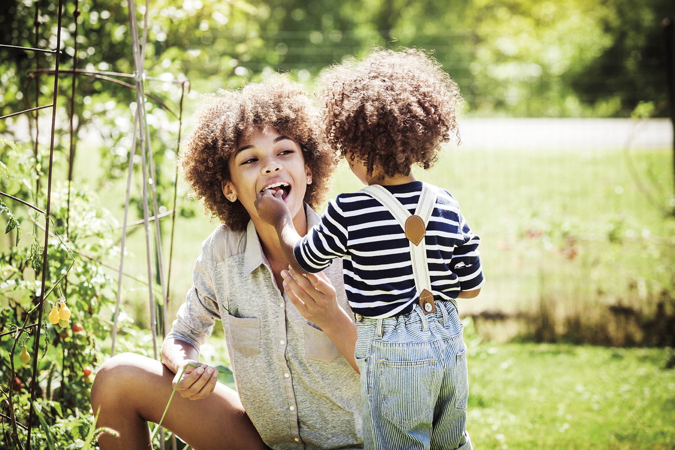 Nurturing the health of little ones through the pleasure of eating