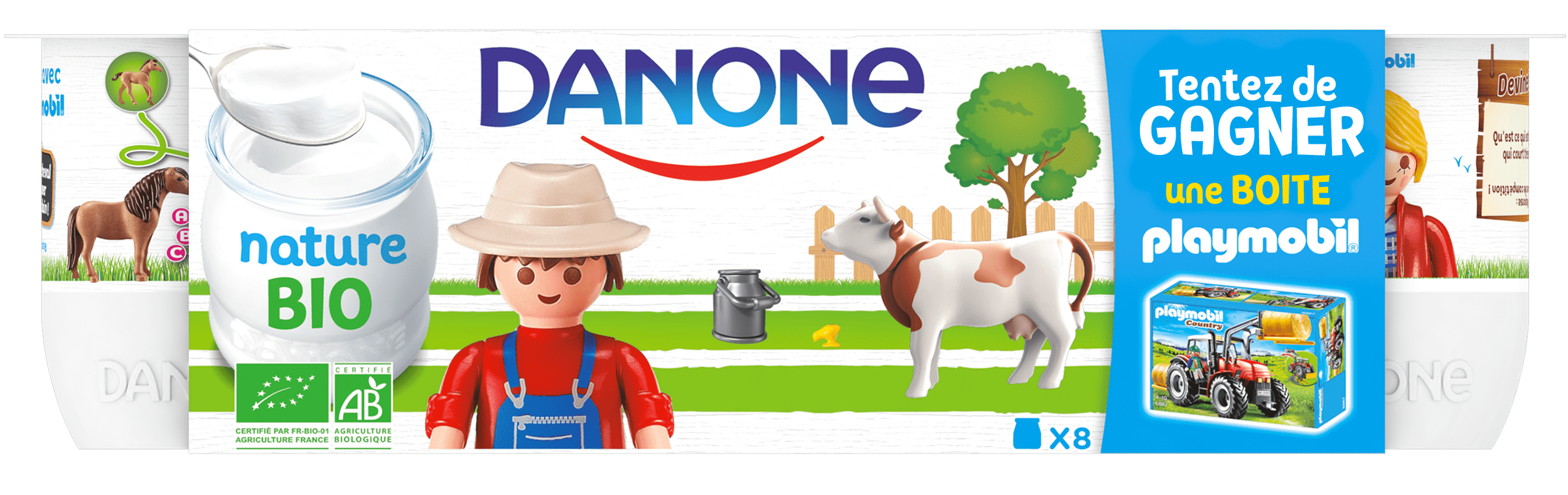 With Playmobil, Danone adds fantasy to the quest for goodness!